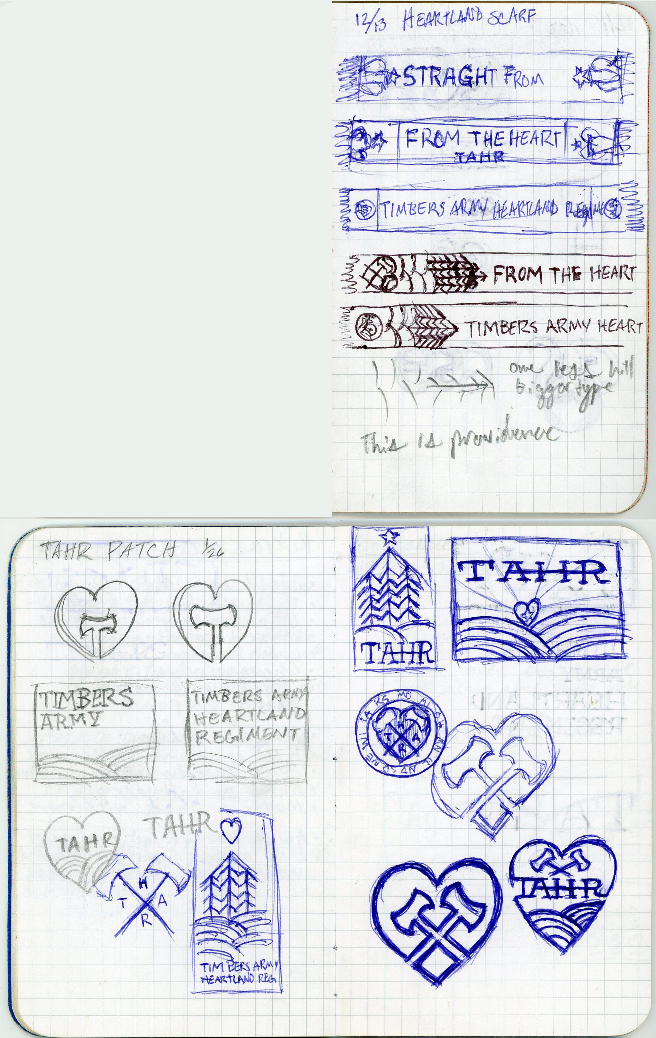 TAHR 4.0 Sketches