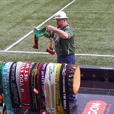 Timbers Army Heartland Regiment Scarf